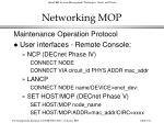 networking mop104