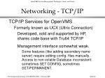 networking tcp ip