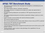 apqc tbt benchmark study