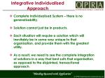 integrative individualised approach1