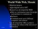 world wide web mosaic1
