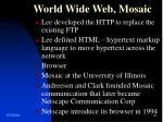 world wide web mosaic2