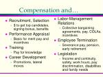 compensation and