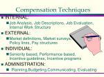 compensation techniques