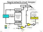 neural network circuit designer