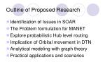 outline of proposed research