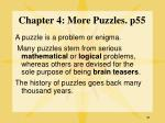 chapter 4 more puzzles p55