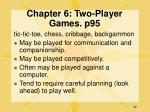 chapter 6 two player games p95