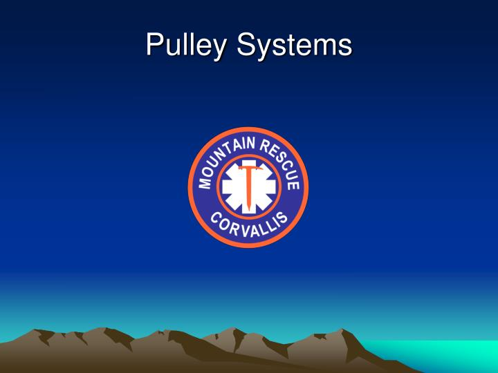 pulley systems n.