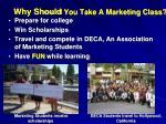 why should you take a marketing class