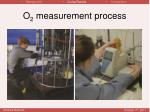 o 2 measurement process
