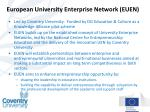 european university enterprise network euen