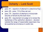 doherty lord scott