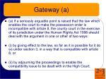 gateway a