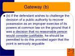 gateway b