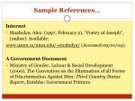 sample references1