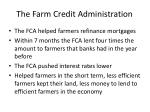 the farm credit administration