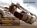 game genres15
