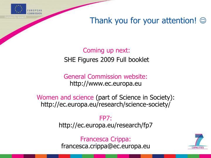General Commission website: