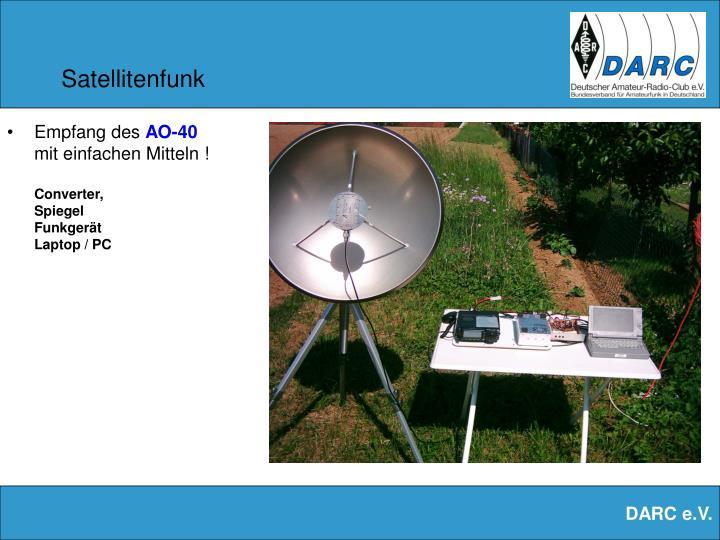 Satellitenfunk
