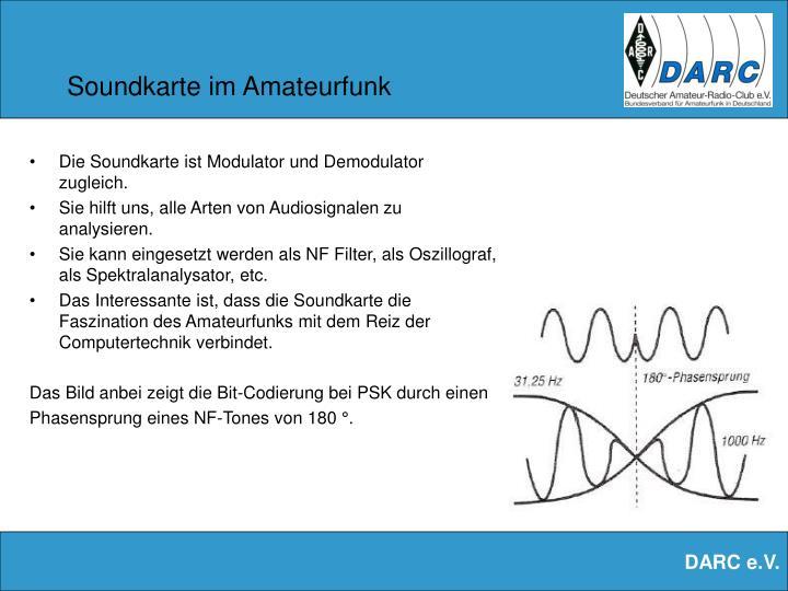 Soundkarte im Amateurfunk