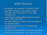 niem benefits