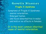 genetic diseases7