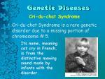 genetic diseases8