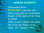 genetic diversity8