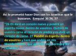 as lo prometi hacer dios con los israelitas que le buscaran ezequiel 36 26 272