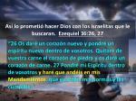 as lo prometi hacer dios con los israelitas que le buscaran ezequiel 36 26 273