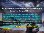 as lo prometi hacer dios con los israelitas que le buscaran ezequiel 36 26 274