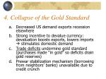 4 collapse of the gold standard