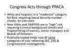 congress acts through ppaca