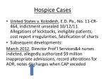 hospice cases