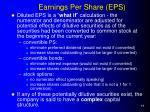 earnings per share eps1