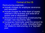 format of the i s1