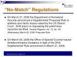 no match regulations1