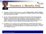 theodore j murphy esq