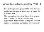 virtual computing laboratory vcl 4