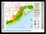evacuation zip codes surge zone map