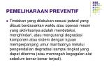 pemeliharaan preventif