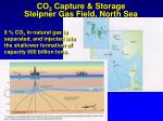 co 2 capture storage sleipner gas field north sea
