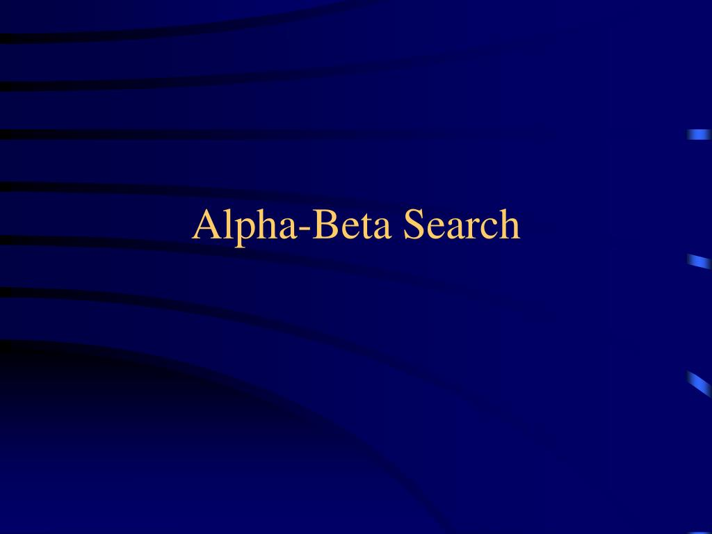 alpha beta search l.