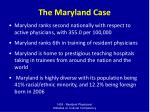 the maryland case