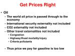 get prices right