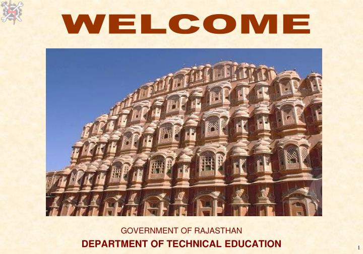 government of rajasthan department of technical education n.