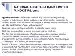national australia bank limited v hokit p l cont