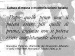 cultura di massa e modernizzazione italiana2