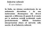 industria culturale il caso italiano1